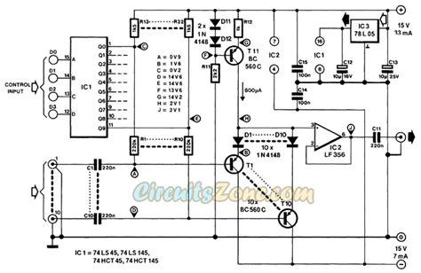 digital audio selector switch circuit circuitszone