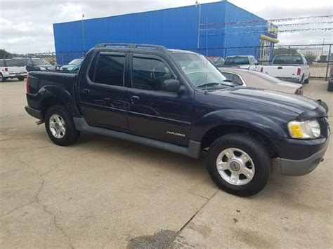 2001 ford explorer sport trac 4dr 4wd crew