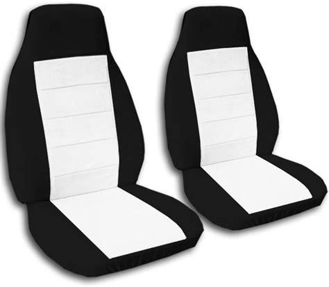 tone car seat covers front semi custom black