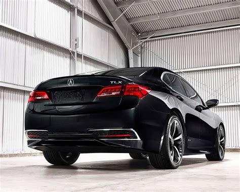 production acura tlx performance luxury sedan debuts 2014