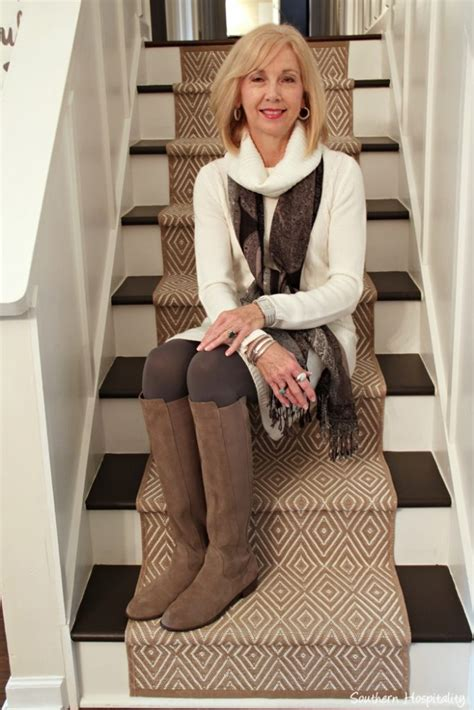 fashion 50 winter white sweater dress southern hospitality
