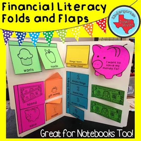 personal financial literacy folds flaps work great interactive