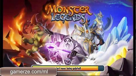 monster legends hack unlimited gems gold food online