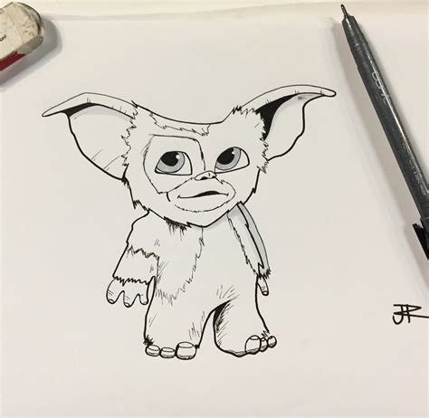 day 16 wet decided draw gizmo gremlins art