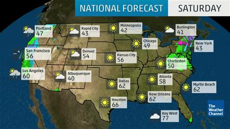 national forecast weather channel