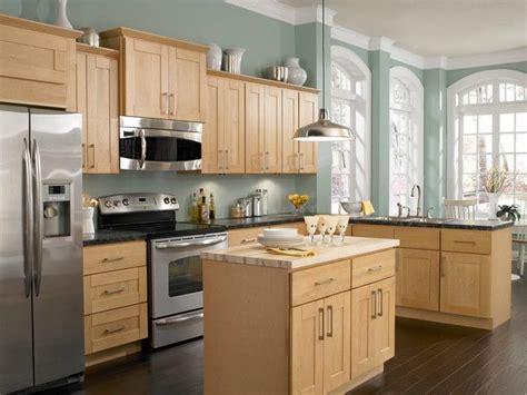 kitchen paint colors oak cabinets garden art ideas