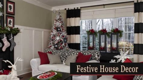 christmas decorations room house youtube