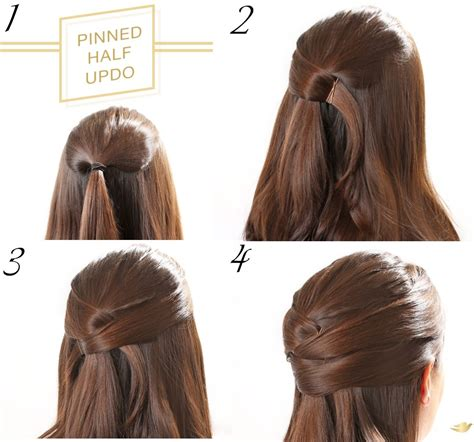 easy updo hairstyles long hair step step criss