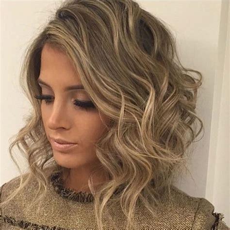 curly wavy short hairstyles haircuts ladies 2018 2019