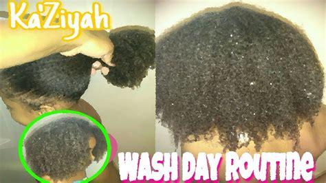 full wash day routine girls simple ka ziyah