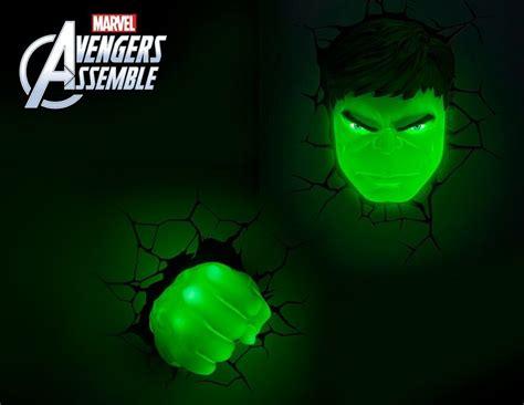 marvel avengers hulk 3d deco light fx led