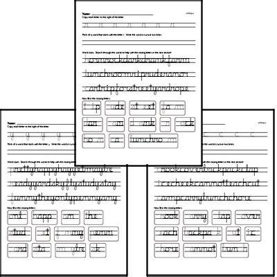 cursive writing worksheets graders edhelper