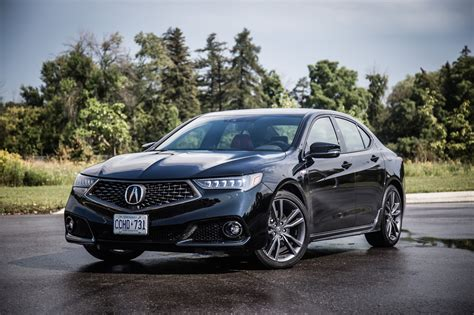review 2018 acura tlx spec canadian auto review