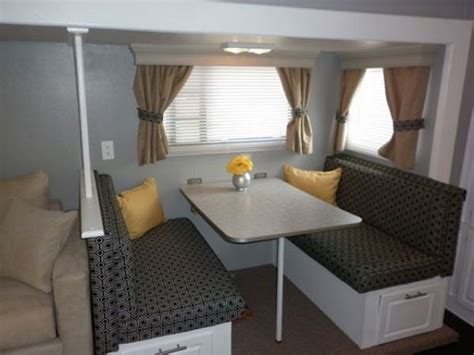 16 year jayco travel trailer interior decor makeover