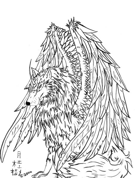 16 wolf pack coloring pages anime wolf pack