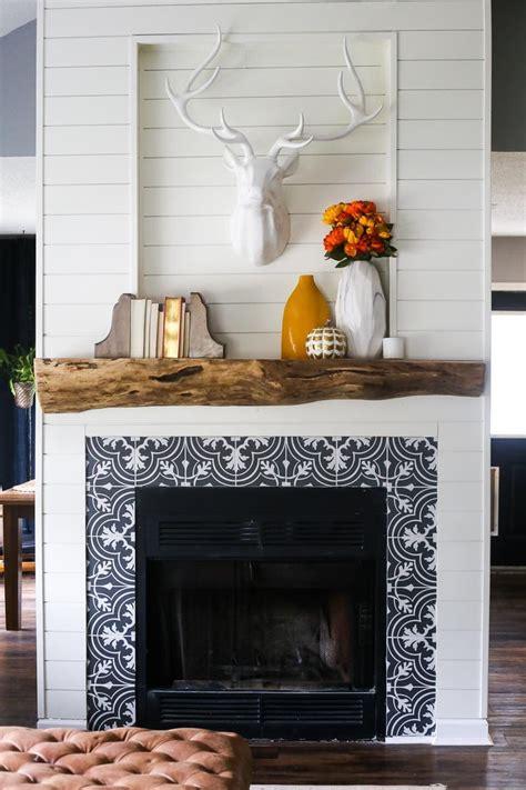 rustic gorgeous diy wood mantel love renovations