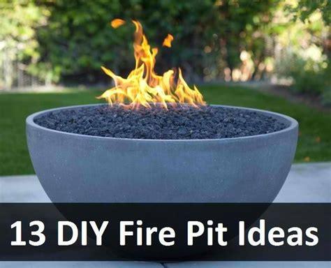13 diy fire pit ideas thifty sue