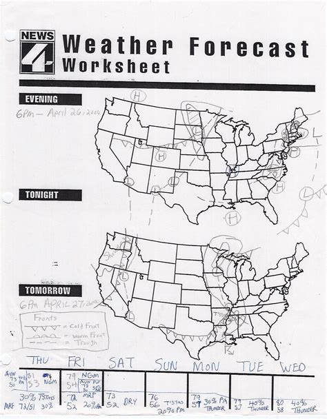 weather worksheet 354 weather symbols worksheet high