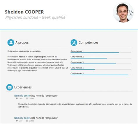 21 professional html css resume templates free download