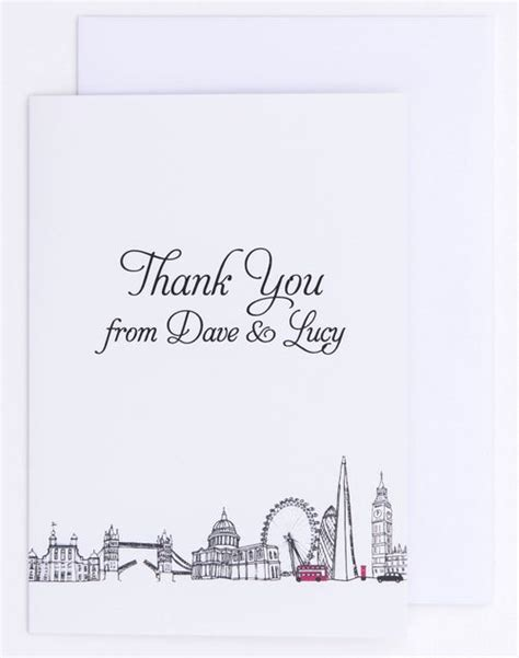 london theme card goldfinch design creators tailor stationery