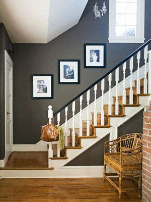 natural beauty decorating neutral colors white staircase grey
