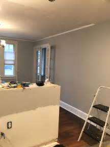 painting dining room kitchen complete behr silver bullet