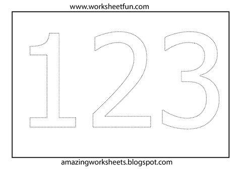 worksheets 2 year olds number coloring worksheet download