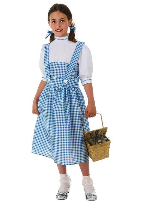 dorothy girls costume dress kids wizard oz girls