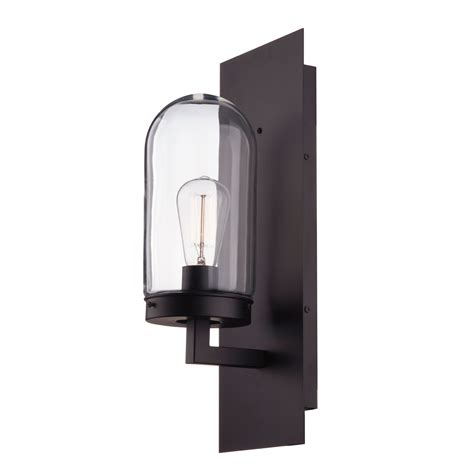 Clear Glass Globe Shade Outdoor Wall Light.html