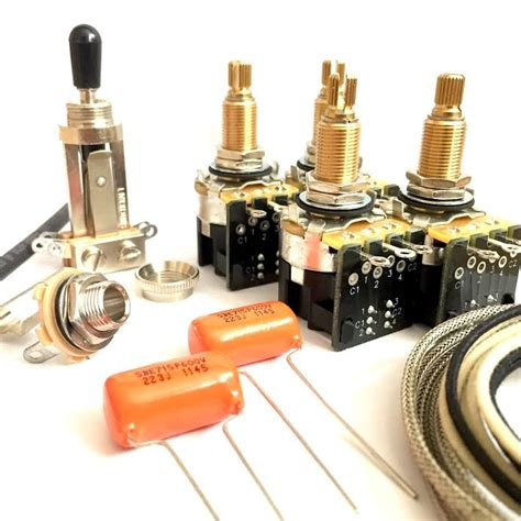 jimmy page les paul wiring kit cts long