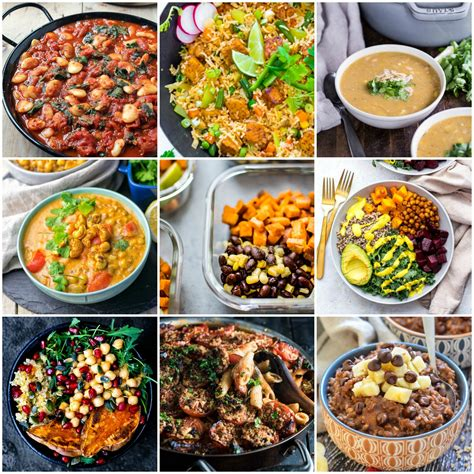 30 delicious vegan meal prep recipes breakfast lunch