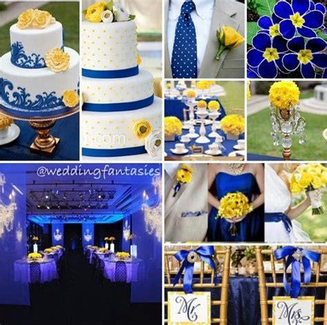 blue yellow weddings blue yellow wedding decor perfect