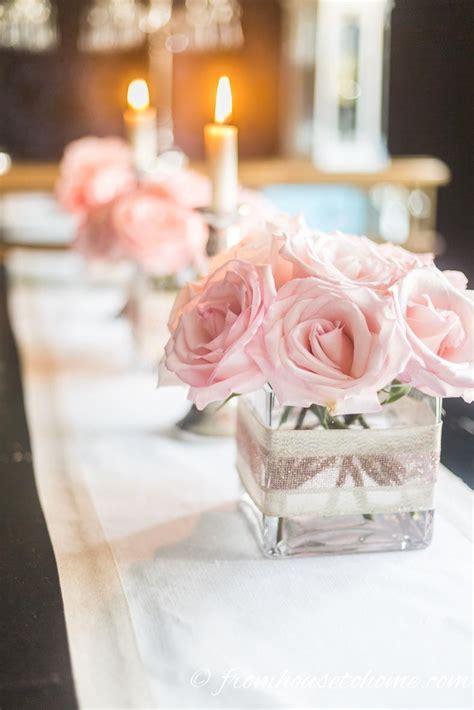 5 elegant easy floral centerpieces perfect romantic table