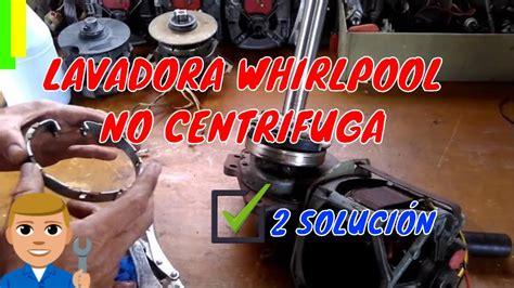 mi lavadora whirlpool centrifuga 2 youtube