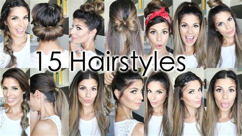 15 school heatless hairstyles youtube