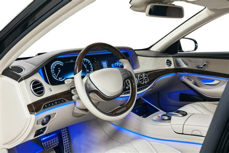 ambience atmosphere led footwell lights