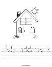 worksheet learn address phone number