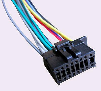 wiring harness fits pioneer deh x2800ui dxt 2569ui