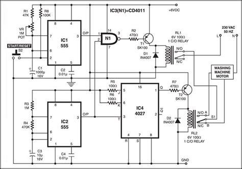 washing machine motor controller full project