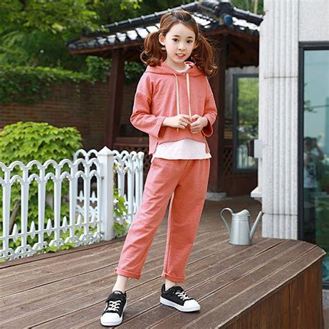 2017 autumn girls fashion outfit 2 pcs clothes