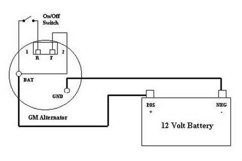 Single Wire Alternator Diagram.html