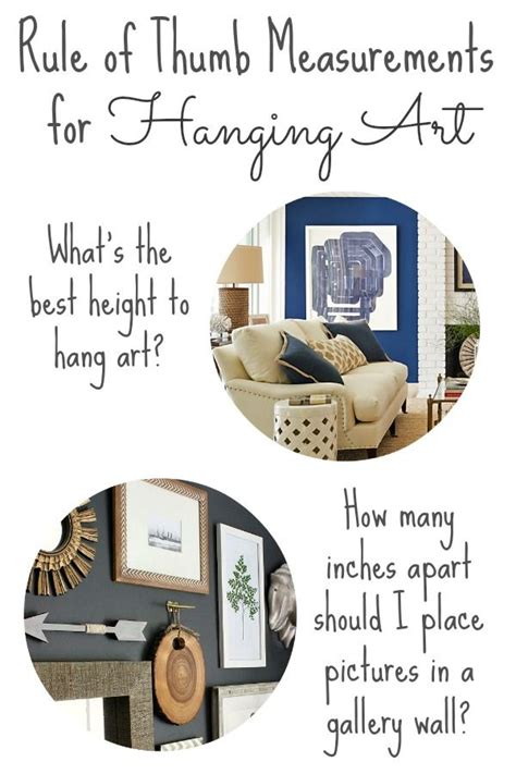 height hang pictures simple tips hanging pictures