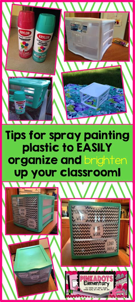 painting plastic crates monday time spray