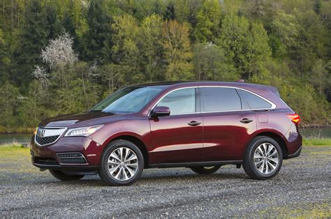 2015 acura mdx reviews rating motor trend