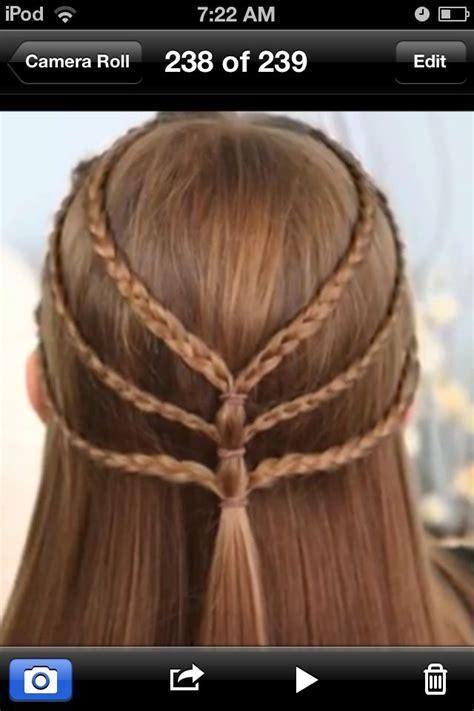 super easy hairstyle school website called cutegirlshairstyles