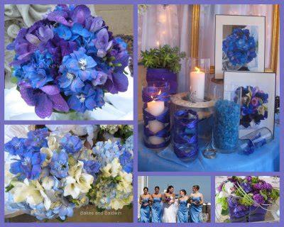 casar natal decoraçã lilá azul moderna delicada