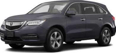 2016 acura mdx prices reviews pictures kelley blue