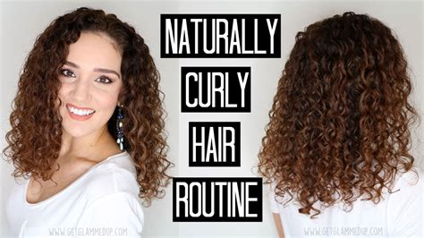naturally curly hair routine wash day youtube