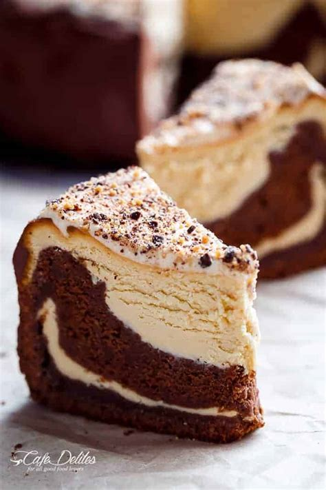 chocolate peanut butter cheesecake cake cafe delites
