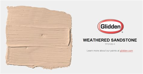 weathered sandstone paint color glidden paint colors